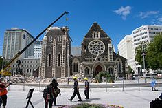 Cathedral Square - could discuss before and after images of this with class for social studies