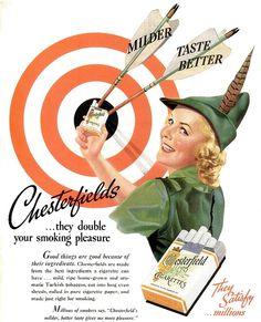 Chesterfields Archery Ad