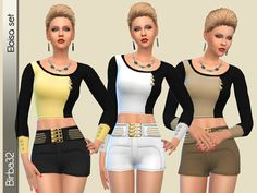 Sims 4 CC's - The Best: Clothing by Birba32