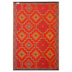 Give your patio a Himalayan vibe with the Fab Habitat Lhasa Outdoor Rug. Durable and weather resistant, this rug has an eye-catching pattern that makes it practical as well a stylish. It's the perfect piece for completing the look of your outdoor space.
