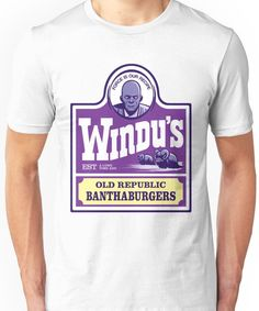 Windu's Old Republic Banthaburgers Unisex T-Shirt