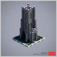 2017 ChunkWorld (Redux) - Minecraft World Minecraft Building Guide, Minecraft Plans, Minecraft City, Amazing Minecraft, Minecraft Construction, Minecraft Survival, Minecraft Tutorial, Minecraft Blueprints, Cool Minecraft Houses