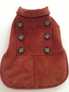 Woolrich Corduroy Dog Coat by LaDolfina on Etsy, $12.00