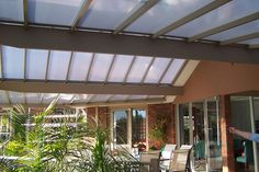 Curved Patio Roof In Doncaster