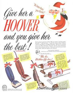 Give her a Hoover!