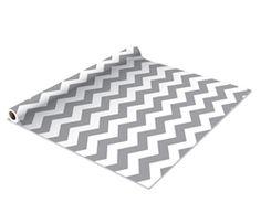 Self Adhesive Shelf Liner - Gray Zig Zag - Make Your Dorm Room Look Cool