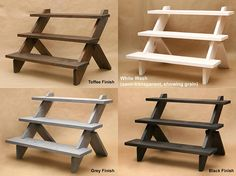 3-Tier Display Shelf / Display Riser / Store Display / Shelf