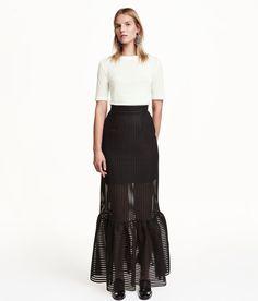 Long flounced skirt RM 249.00