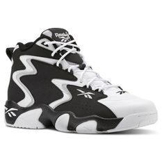 timeless design 66597 a3651 Reebok Males Mobius OG MU in Black   White   Snowy Grey Size 10.5 -  Basketball
