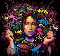 Noe Two est un artiste contemporain qui dès la fin des années 80 découvre le hip hop et l'univers du graffiti. Ce sont ses voyages et ses rencontres avec de nouvelles cultures qui transforment et nourrissent sa peinture, son art.