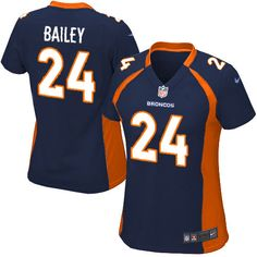 All Size Free Shipping Limited Women's Nike Denver Broncos #24 Champ Bailey Dark Blue NFL Jersey. Have your Limited Women's Nike Denver Broncos #24 Champ Bailey Dark Blue NFL Jersey shipped in time for the next NFL game with our low price $4.99 3-day shipping. Go G-Men!$79.99