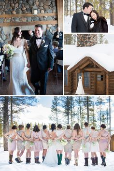 Looking forward to my winter wedding in the mountains!
