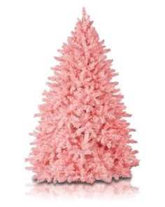 Cotton Candy Pink Christmas Tree #CottonCandy #PinkTree