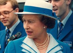 The royal babushka made its first appearance in the late eighties, as silken scarves replaced sturdier head covering to reveal a more casual queen. First photographed during more rural pursuits, for example whilst at the Royal Horse Show, this look became almost iconic for Queen Elizabeth, and has stayed with her well into the 21st century.