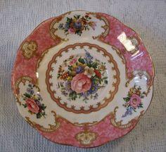 Vintage Royal Albert Lady Carlyle saucer