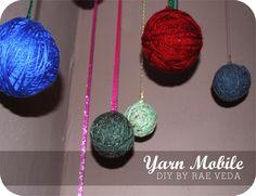 DIY Yarn Mobile with Rae Veda