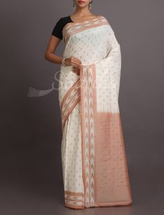 Hetal Patel Pleasure Pure #IkatCottonSaree