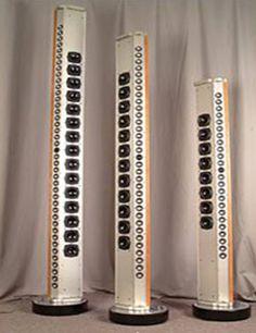Hi-Fi Line array speakers.