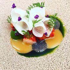Lobster salad by @shergatt #TheArtOfPlating
