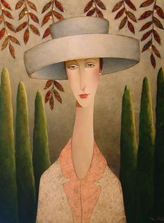"""Florence in Tuscany"", by Danny McBride (Canadian artist, b. 1951)"
