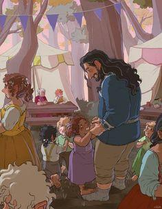 some kimono/yukata Thorin and Bilbo for Hobbit Art, O Hobbit, Legolas And Thranduil, Bagginshield, The Hobbit Movies, Thorin Oakenshield, Jrr Tolkien, Middle Earth, Lord Of The Rings