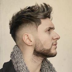 Short Layered Haircut For Men 2017