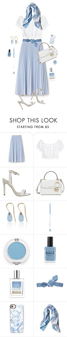 """""""Senza titolo #6511"""" by waikiki24 ❤ liked on Polyvore featuring Lacoste, Michael Kors, Love Is, Lauren B. Beauty, Colette Malouf, Casetify and Asprey"""