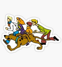 """""""Classic Scooby Doo Sticker"""" Stickers by imuncomfortable Preppy Stickers, Cool Stickers, Laptop Stickers, Journal Stickers, Planner Stickers, Desenho Scooby Doo, Scooby Doo Tattoo, Scooby Doo Mystery Inc, Homemade Stickers"""