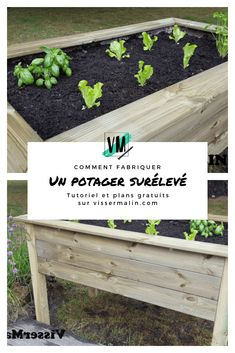 Comment fabriquer un potager surélevé   Plan Potager, Horticulture, Pergola, New Homes, Patio, Diy, Plants, Gardening, New York