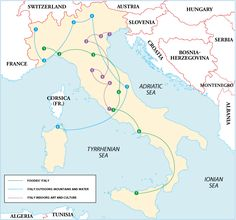 Itineraries - Italy is a large and complex destination and you can't hope to savour it all on one visit; indeed, experiencing and appreciating the country properly, in all its aspects, is arguably a lifetime's work. Nonetheless …
