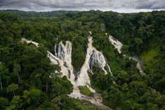 Cataratas Djudji, Parque Nacional Ivindo, Gabon.