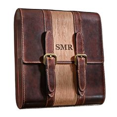 Buy the Travel Leather Cigar Humidor at Wine Enthusiast – we are your ultimate destination for wine storage, wine accessories, gifts and more! Good Cigars, Cigars And Whiskey, Cigar Travel Case, Wooden Smoking Pipes, Cigar Humidor, Wine Storage, Leather Backpack, Satchel, Bourbon Cocktails