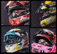 Beautiful helmet artwork.