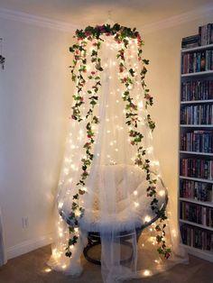 Bulb Decorative String Light – Home Dekor Cute Room Decor, Teen Room Decor, Paris Bedroom Decor, Yellow Room Decor, Flower Room Decor, Yellow Rooms, Room Wall Decor, Diy Bedroom Decor, Dorms Decor