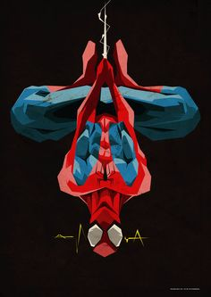 Spiderman - by ColourOnly85 (it's supposed to be Spider-man)