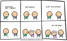 Cyanide and happiness - Instagram! bahahaha xD >>>>>>>> Those saggy boobs thoo
