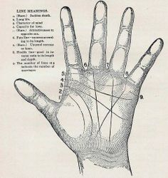 Palm Reading Hand Lines Meaning Read How to get as much as you want out of a 100 % Free Online Psychic Chat? Wiccan, Magick, Witchcraft, White Art, Black And White, Under Your Spell, Fortune Telling, My Tumblr, Book Of Shadows