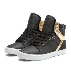 "SUPRA SKYTOP ""JEFFERSON"" Shoe | BLACK / PURPLE / TIGER - WHITE | Official SUPRA Footwear Site"
