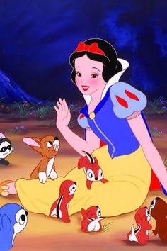 *SNOW WHITE and the SEVEN DWARF's,