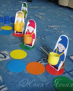 настольная игра Color Games, Sensory Toys, Camping Activities, Early Childhood Education, Math Games, Special Education, Ideas Para, Board Games, Skateboard