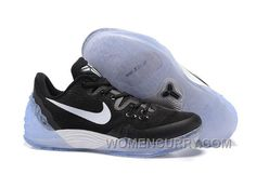 reputable site 8538e 4b92a NIKE KOBE VENOMENON 5 Black White Men