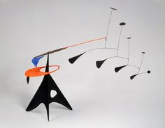 Alexander Calder. 'Blue Feather' c. 1948