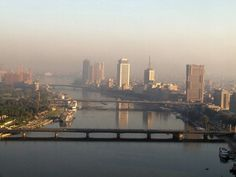 The Nile River - Cairo, Egypt