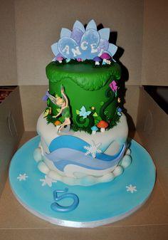 Tinkerbell & Periwinkle Cake