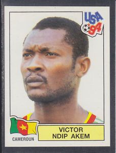 world cup panini usa 94 - V. N. Akem