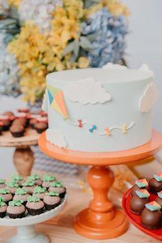 Pastel, Baby Photos, Fondant, Birthday Parties, Desserts, Blog, Kite Party, Baby Party, Toddler Boy Birthday