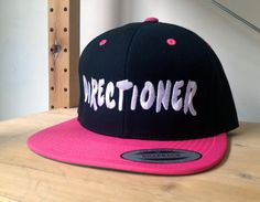 1D Snap Back Hat.  Choose your colour and customize your embroidery colours.  One Direction Snapback Hat.  Harry Styles, Naill, Snap Back on Etsy, $20.00