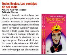 """Leyes de Murphy sólo para mujeres: Reseña de mi nuevo libro """" Todas Brujas, Las…"""