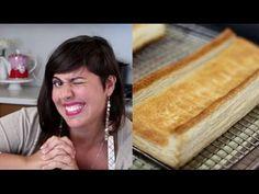 RECEITA ABAIXO. Aprenda passo a passo a fazer uma tradicional massa folhada com centenas de camadas amanteigadas. Aqui voce aprendera a fazer a massa folhada...