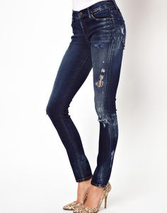 GOLDSIGN | Lure Skinny High Waist Jeans